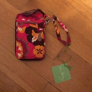 Vera Bradley wallet wristlet case